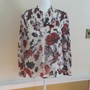Lucky floral blouse